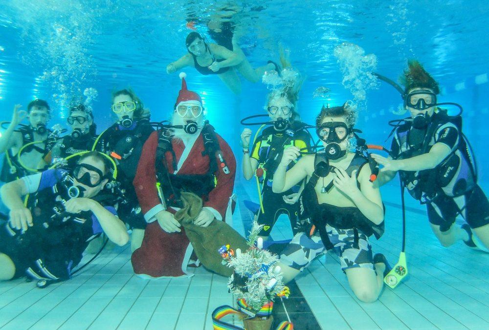 WSV 21 Taucher – Nikolaus unter Wasser