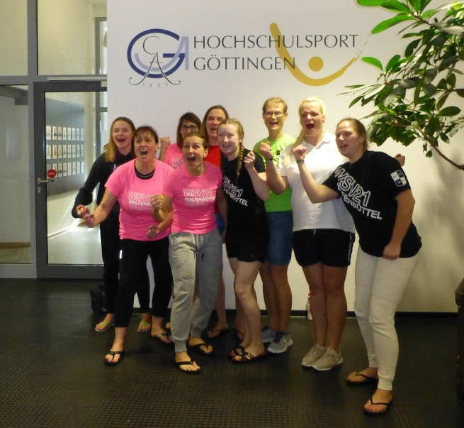 Damenschwimmteam des WSV 21 erringt Achtungserfolg bei den DMS in Göttingen