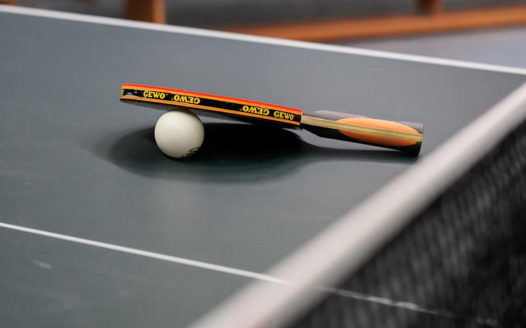 1. Beitrag Tischtennis