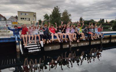 Wasserball-Jugend zeltet am Fümmelsee – Ferienlager 2021