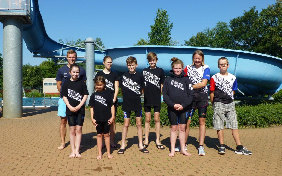 Gelungener Start in die Sommerpause – WSV 21 Schwimmer starten erfolgreich beim 47. Schwimmfest in Vienenburg