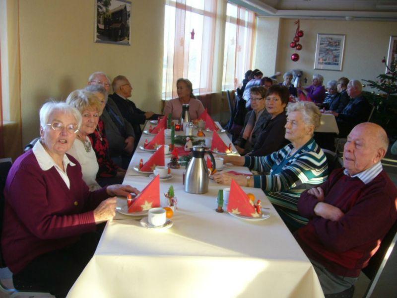 WSV-Senioren bei Weihnachtsfeier