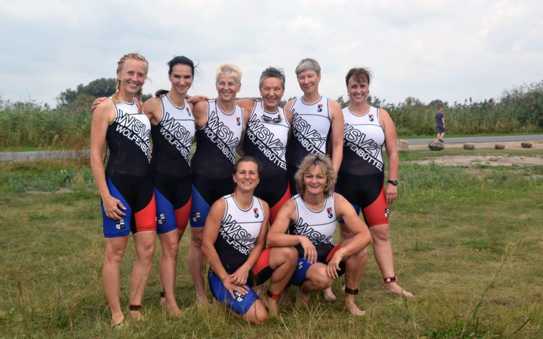 Triathlon-Damen steigen in die Landesliga auf