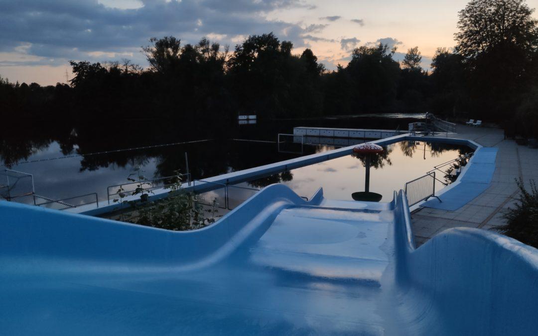 Die Badesaison endet am Sonntag, den 12.09.2021